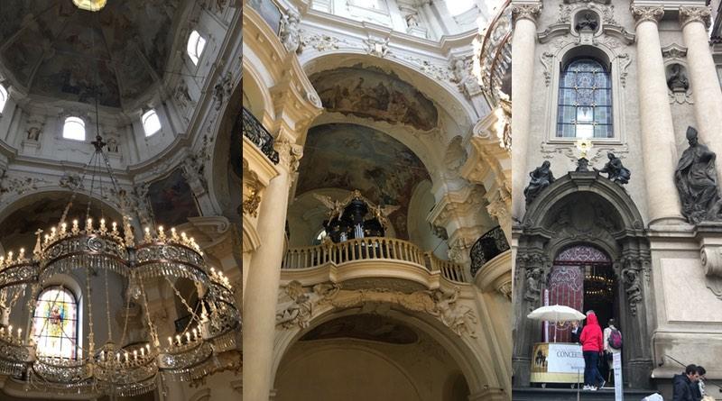 St Nicolas church Prague