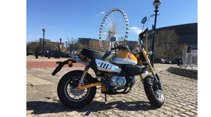 Honda Monkey 125, Liverpool Royal Albert Dock