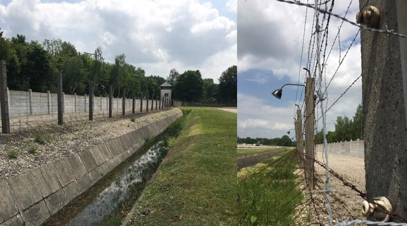 Perimeter fencing Dachau