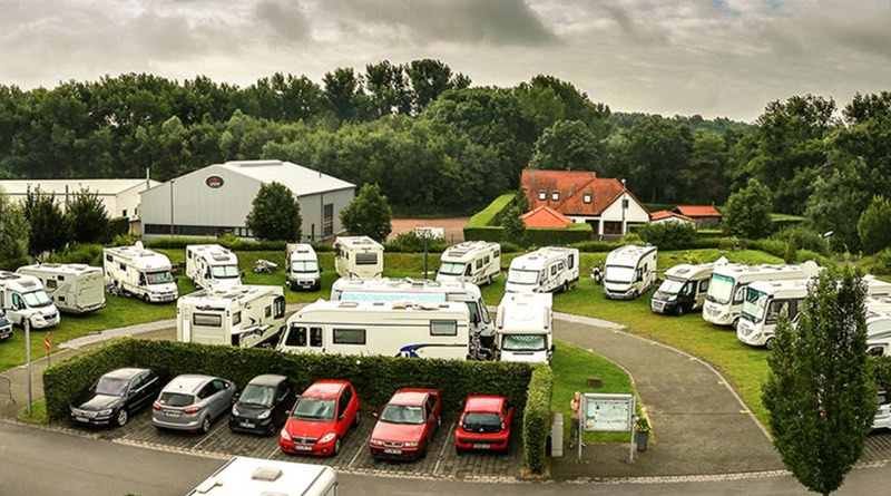 Motorhome holiday road trip Germany. Bergkämen