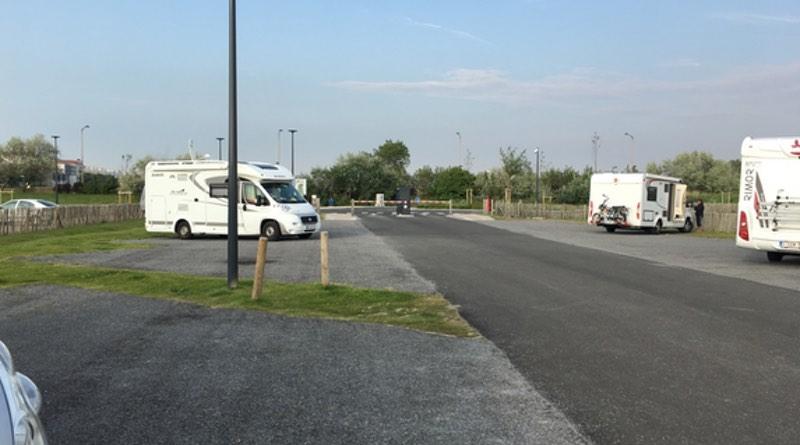 Calais motorhome stop over (Aires de camping-car)
