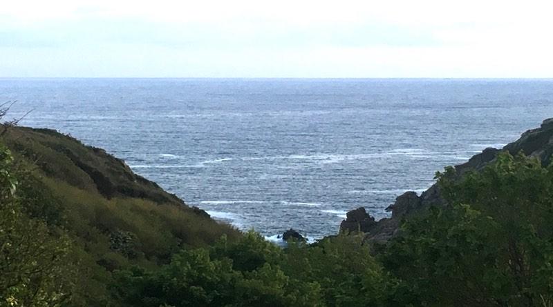 Treverven touring park, St Buryan, Penzance, Cornwall coastal walk. Motorhome holiday road trip.