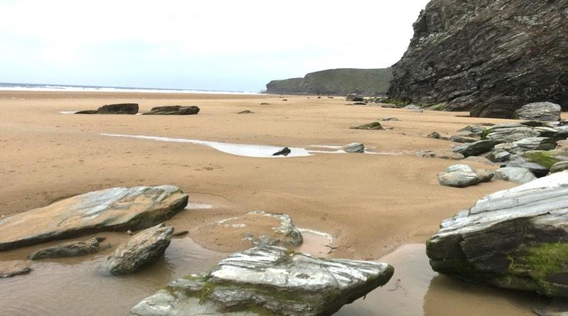 Beaches at Watergate Bay, Newquay, Cornwall.