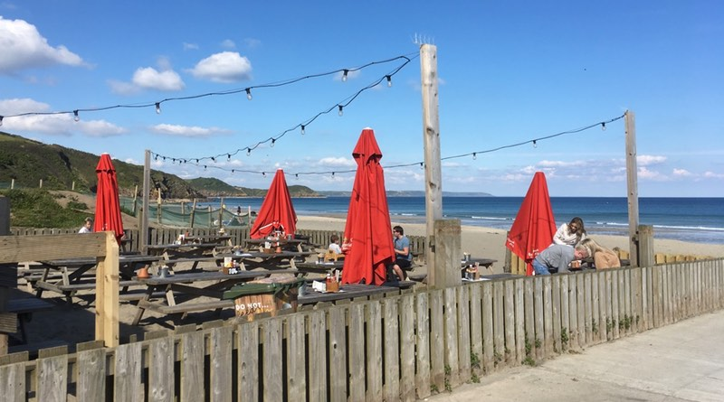 Pentewan Sands Holiday park, situated in Pentewan, St Austell, Cornwall. Great Beaches and a bar