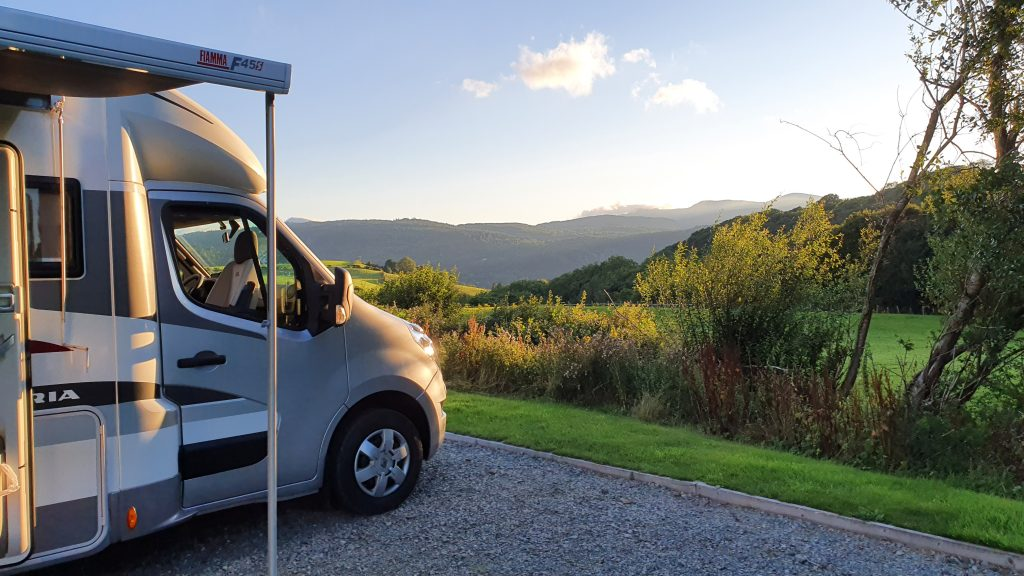 Tan Y Rhiw is a Certificated Site (CS) Camping and Caravanning Club Llanrwst Wales, lovely pitches