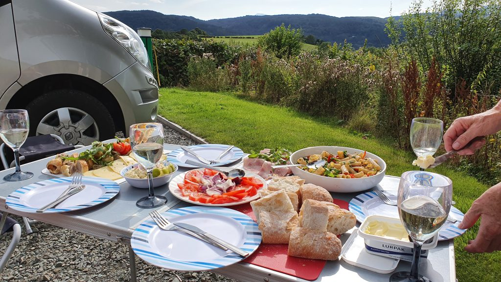 Tan Y Rhiw is a Certificated Site (CS) Camping and Caravanning Club Llanrwst Wales provides nice views