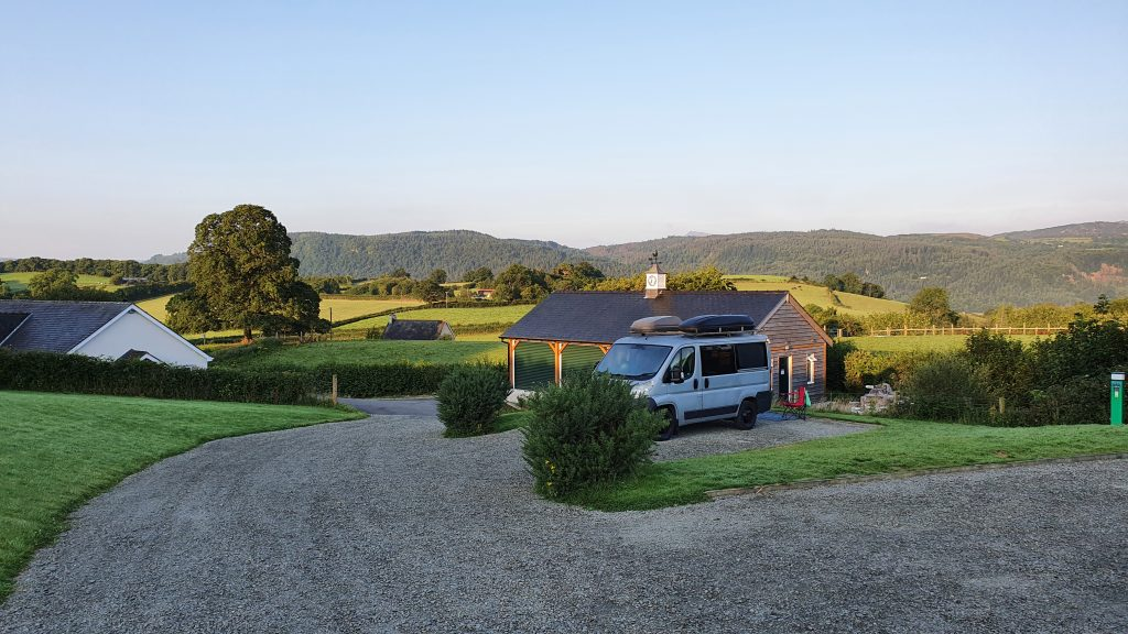 Tan Y Rhiw is a Certificated Site (CS) Camping and Caravanning Club Llanrwst Wales, great views.