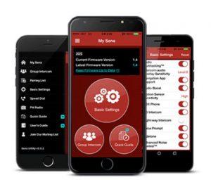Sena 10S Android App Sena 10S iOS App